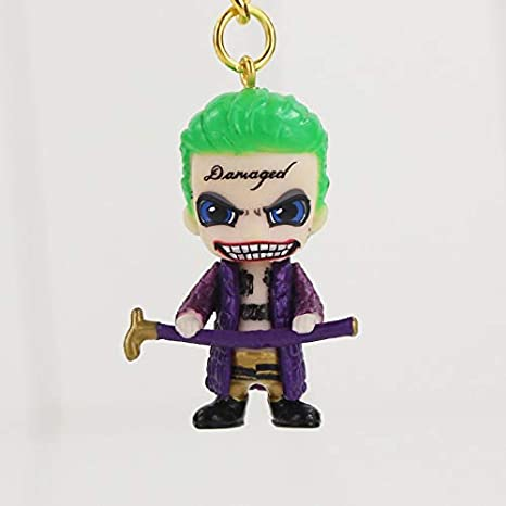 Suicide Squad Llavero 3D PVC Figura Joker con Caña: Amazon ...