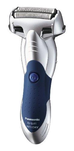 Panasonic ES-SL41-S503 Nass- / Trocken Rasierer, silber/blau