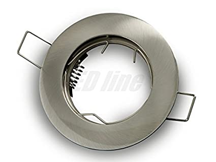Gamma Led Lampen : Led einbaustrahler led einbauspot rund aluminium ideal für led