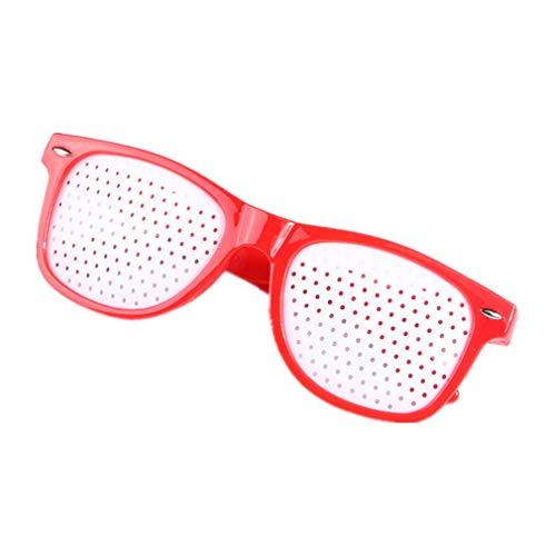 (Unisex Eyesight Care Pinhole Glasses Eyes Exercise Anti-Fatigue Glasses)