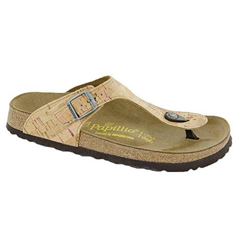 Papillio Women's Gizeh Thong Sandals,Beige,37 M EU / 6-6.5 B(M) US