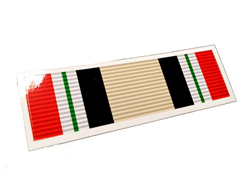 1x4-Iraq-Campaign-3m-Reflective-Military-Ribbon-Decal-High-Quality-Made-for-the-Outdoors-Made-in-the-USA