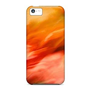 Hot JDreY2567MlQUH Case Cover Protector For Iphone 5c- Fire Blur