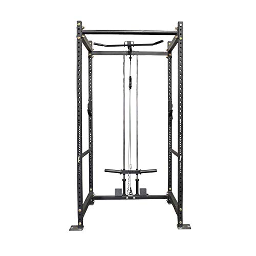 Titan T-3 Series Short Power Rack and Pulley Tower Combo | 24