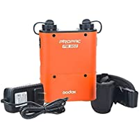 Godox Propac PB960 Flash Power Battery Pack Dual Output for Canon Sony Nikon Metz Camera (Orange)