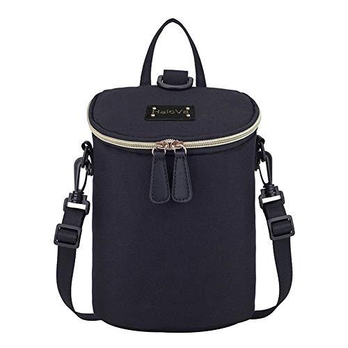 HaloVa Baby Bottle Bag, Mini Diaper Backpack, Insulated Brea