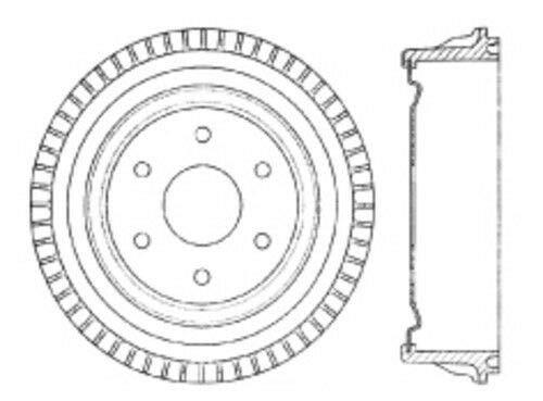 Centric Parts 123.66034 C-Tek Standard Brake Drum