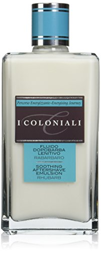 I Coloniali Soothing Aftershave Emulsion with Rhubarb, 3.3 oz.