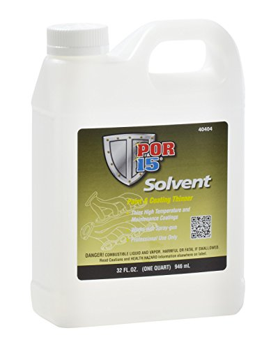 Thinner Paint - POR-15 40404 Solvent - 1 Quart