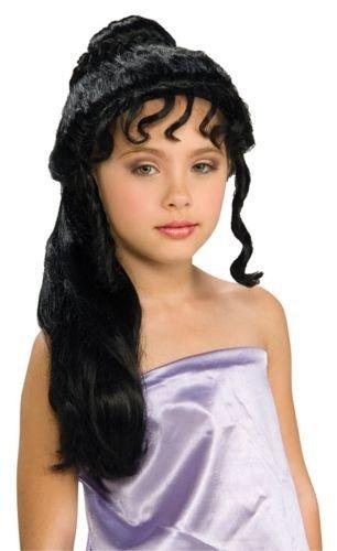 Grecian Princess Black Kids Wig