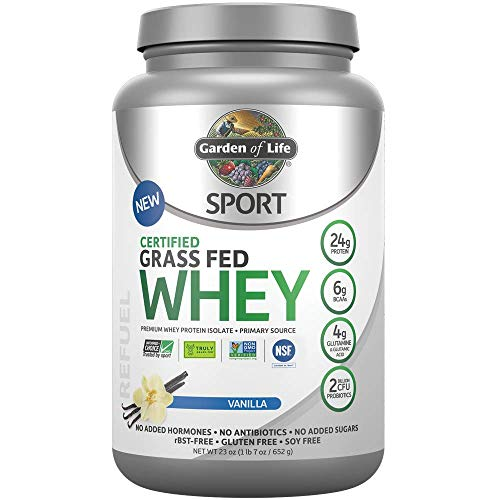 The Best Garden Of Life Grass Fed Whey Vanilla