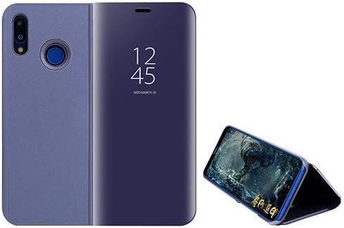 Funda® Espejo Enchapado Flip Huawei Honor 10 Lite (Púrpura ...