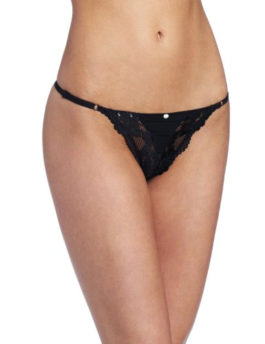 - Jezebel Women's Ideal Low Rise G-String, Black, Small