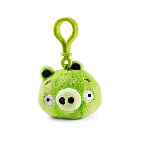 Angry Birds Backpack Clip - Piglet by Angry Birds TOY - Glow Worm Costume Adults