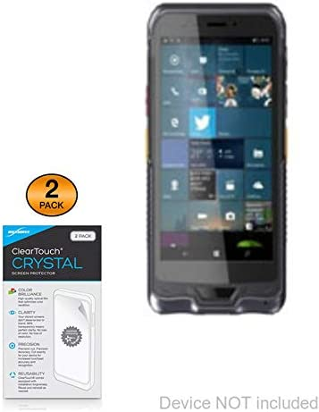 Comark 6 Rugged PDA Screen Protector Shields from Scratches for Comark 6 Rugged PDA 2-Pack HD Film Skin BoxWave ClearTouch Crystal