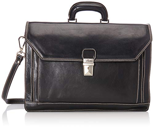 Floto Luggage Venezia Briefcase, Black, One Size ()