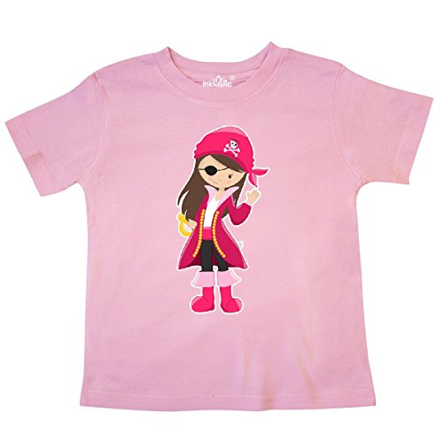 inktastic - Pirate Captain Toddler T-Shirt 4T Pink 27531