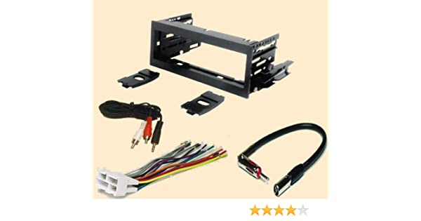 [DIAGRAM_38DE]  Amazon.com: Carxtc Fits Cadillac Escalade 1999 2000 2001 2002, Stereo Wiring  Harness, Dash Install Kit Faceplate, with FM Antenna Adaptor (Combo  Complete Aftermarket Stereo Wire and Installation Kit): Car Electronics | 2000 Cadillac Escalade Speaker Wiring |  | Amazon.com