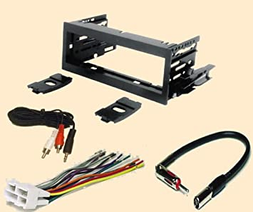 amazon com cadillac escalade 1999 2000 2001 2002 stereo wiring cadillac escalade 1999 2000 2001 2002 stereo wiring harness dash install kit faceplate