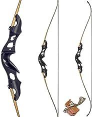 """KAINOKAI 60"""" Takedown Recurve Bow,Archery Bow Hunting Bow Target Shooting Bow 20-"""