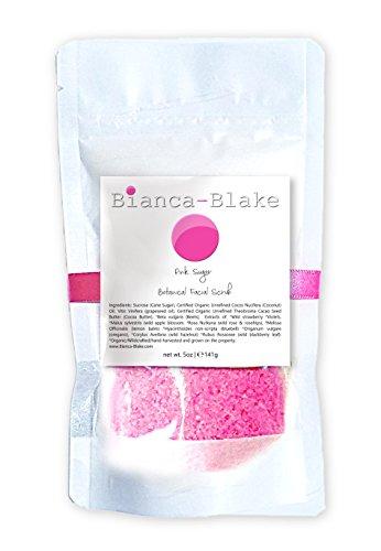 Pink Sugar Botanical Facial Scrub by Bianca-Blake