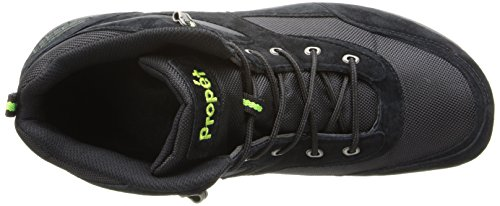 Propet Mens Mack Walking Shoe Nero / Lime