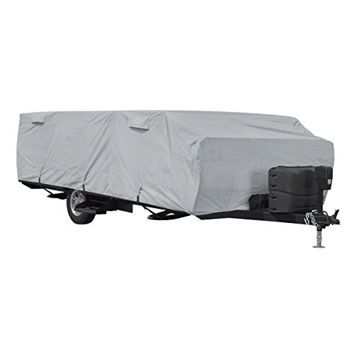 Classic Accessories 80-405-181001-RT PermaPro RV Cover for 16'-18' Long Folding Camping Trailers
