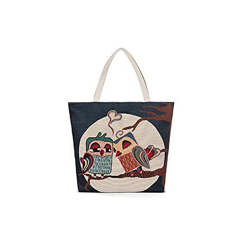 del Black Hand Coffee Tote Borse Qztg donna Grande Zipper Canvas Bianco Classic Quelli capacità Tote Coffee da Wqq06F1aw