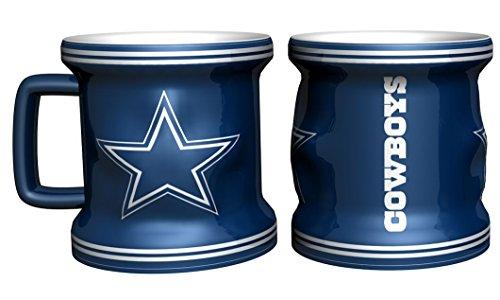 Shot Coffee Mug (Dallas Cowboys Sculpted Mini Mug Shot)