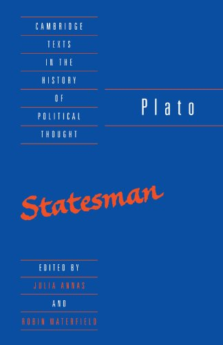 Plato: The Statesman (Cambridge Texts in the History of Political Thought)