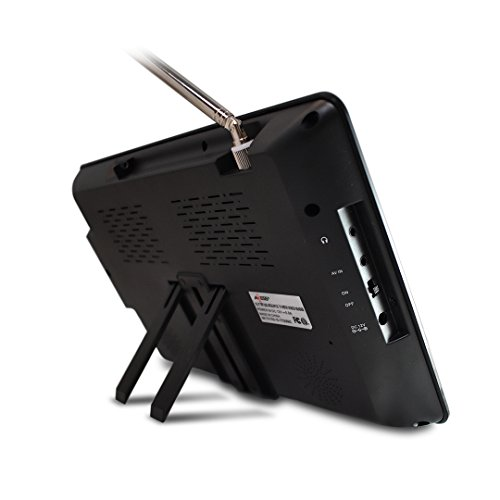 Axess 10.1-Inch TV, ATSC Remote Control