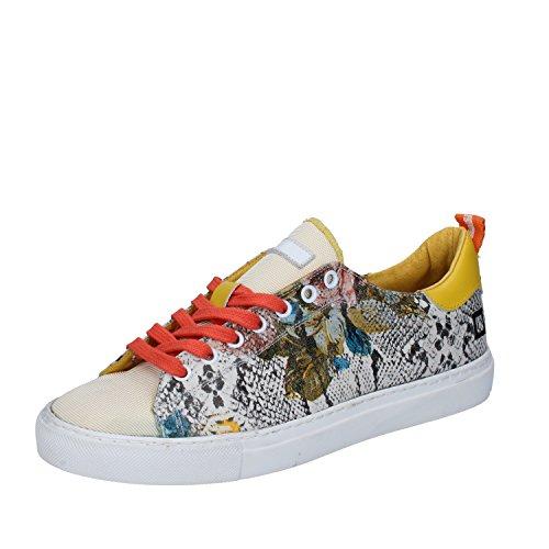 D.a.t.e. Date Sneakers Damen 37 EU Multicolor Textil Leder