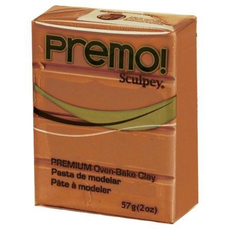 Polyform Premo! Sculpey Polymer Clay 2 Oz: Copper