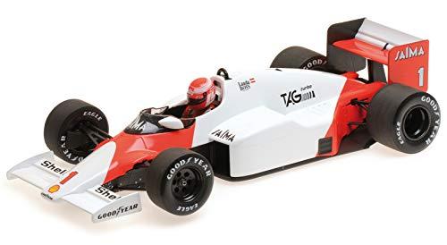 (McLaren TAG MP4/2B #1 Niki Lauda (1985) 1/18 Diecast Model Car by Minichamps)