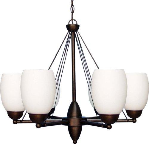 Volume Lighting V2326-27 Sussex 6-Light Chandelier