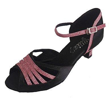 Combinado Dançando Uk De Cn 5 4 37 Nos 5 Senhoras Ue 7 Salto Sandálias Aberto 5 Latino Dedo Bege Individuais Xiamuo 37 Sapatos Multicolor 6 HvqgwXHx