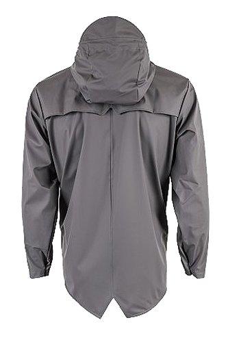 Jacket Impermeable Smoke para Hombre Gris Rains x0g71nwqx