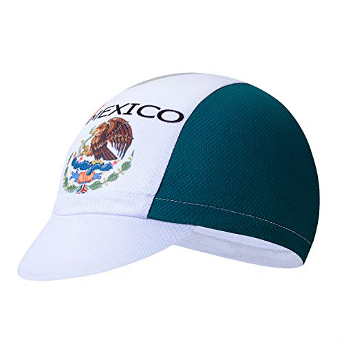 Men Women Cycling Cap Helmet Liner Hat Outdoor MTB Sun Proof Anti-Sweat Breathable Mexico Team