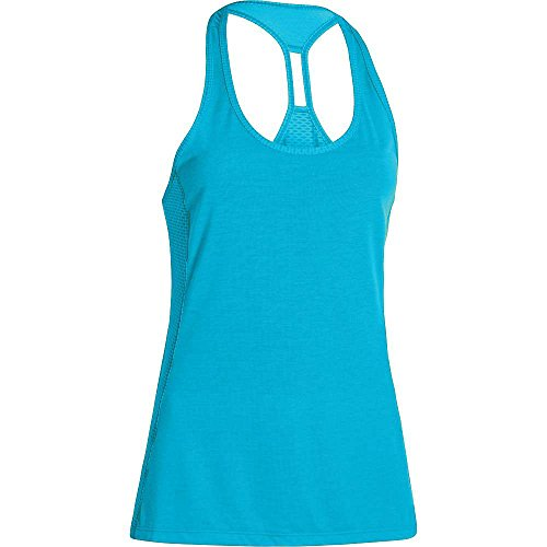 under-armour-fly-by-stretch-mesh-tank-womens-island-blues-reflective-large