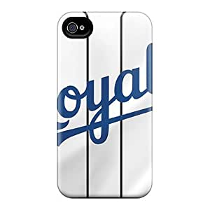 Brand New 4/4s Defender Case For Iphone (kansas City Royals)