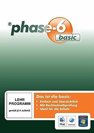 phase 6 lernprogramm