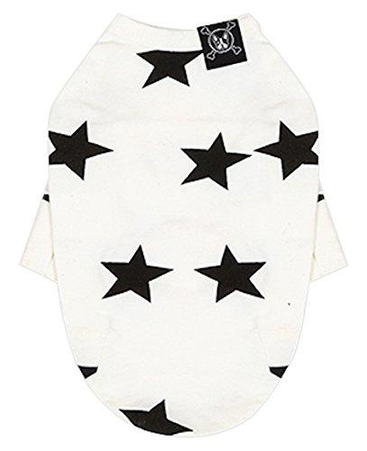 Puppy Angel Hunde T-Shirt Motiv Etoile Elfenbeinfarben Größe M