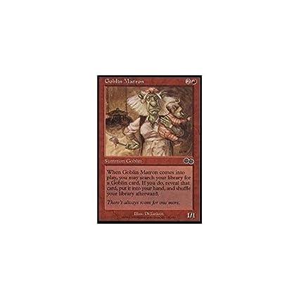 Magic: the Gathering - Goblin Matron - Urzas Saga by Magic ...