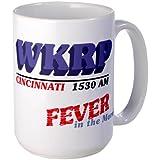 CafePress WKRP Fever in the Morning Large Mug Large Mug - Standard Multi-color