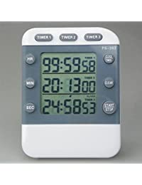 PickUp BST Kitchen Thermometers 3-Channel Kitchen Timer Reminder, Plastic 3.5