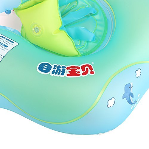 MARINE COLOR Baby Swimming Ring Inflatable Infant Armpit Floating Kids Swim Pool Accessories Circle Bathing Inflatable Double Raft Rings Toy Children Float (S) by MARINE COLOR (Image #6)