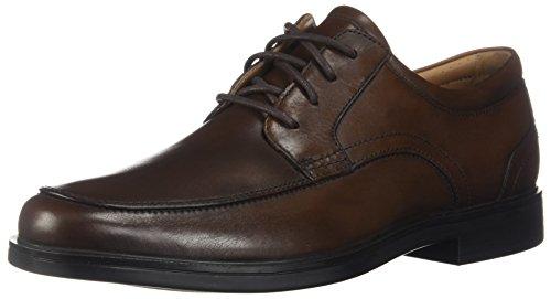 CLARKS Men's Un Aldric Park Oxford, Tan Leather, 9 M US