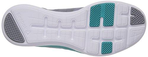 Teal Fitness Donna Reebok Shadow Tr Scarpe solid Da 000 cool Grigio wht Sprint PBUWC4O