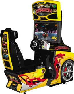 Need For Speed Carbon Video Arcade Racing Game - Standard Model ()