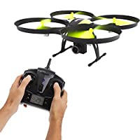 SereneLife FPV Drone with HD Camera and live Video. Headless Mode Quadcopter, Altitude Hold, 1-Key Takeoff/Landing, Bonus Battery, Low Voltage Alarm, Custom Route Mode